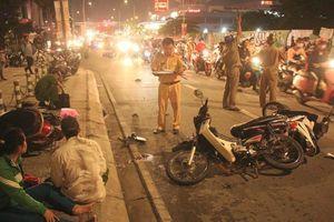 TP.Hồ Chí Minh: Ô tô 'điên' đại náo đường phố làm 5 người thương vong