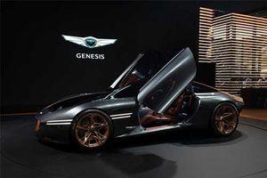 Cận cảnh siêu xe Hyundai - Genesis Essentia Concept