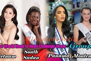 Tiểu Vy sẽ đối đầu với những người đẹp nào tại Miss World?