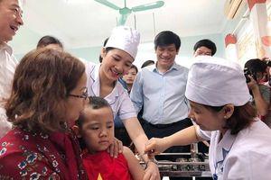 Trên 95% trẻ từ 1-5 tuổi sẽ được tiêm bổ sung vắc xin sởi -rubella