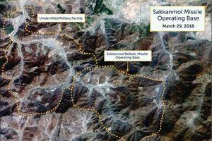 Hình ảnh từ vệ tinh vô tình tiết lộ căn cứ tên lửa bí mật của Triều Tiên