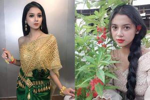 Mới xuất hiện một cô gái người Khmer xinh đẹp hết nấc khiến dân mạng tưởng nhầm là con lai