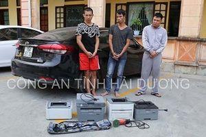 Hải Dương: Thuê ô tô xông vào công ty trói bảo vệ, cướp của trong đêm