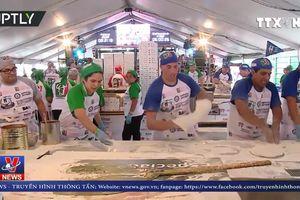 Kỷ lục Guinness mới về Pizza