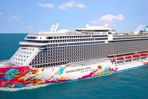 3.500 khách tàu biển World Dream đến Đà Nẵng và Hạ Long