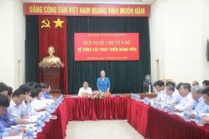 Bốn kinh nghiệm phát triển đảng viên ở Đảng bộ quận Hồng Bàng
