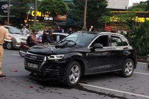 Xác định được danh tính tài xế xe Audi Q5 gây tai nạn liên hoàn trên đường Nguyễn Khánh Toàn