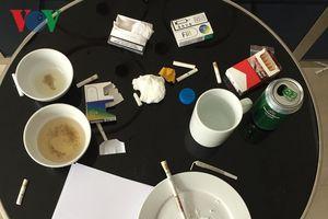 Phát hiện 10 nam, nữ thuê căn hộ chung cư để dùng ma túy