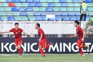 Trọng Hoàng đi bóng kỹ thuật, ghi bàn hạ gục đội tuyển Malaysia