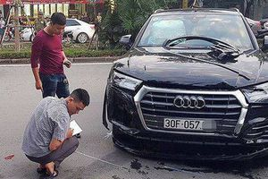 Thông tin mới nhất vụ xe Audi lùi như tên bắn, tông hàng loạt người và phương tiện trên đường phố Hà Nội
