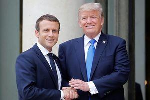 Tổng thống Trump công kích lãnh đạo Pháp về kế hoạch 'quân đội châu Âu'