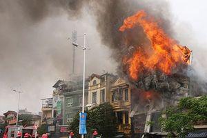 Dân quân làm nòng cốt trong chữa cháy, cứu nạn, cứu hộ tại cụm dân cư