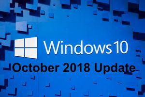 Microsoft phát hành lại Windows 10 October 2018 Update