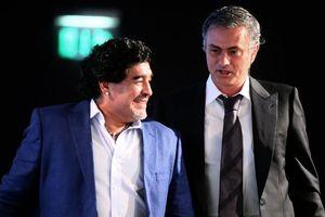 Maradona: 'Mourinho là số một, Pep hưởng thành quả của Cruyff'