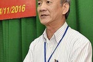 Nguyên Chánh văn phòng Tỉnh ủy bị khởi tố: 'Tôi không vụ lợi cá nhân'