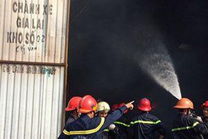 'Bà hỏa' nuốt chửng bãi giữ xe ở TP HCM