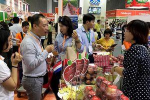 Nhiều thực phẩm nước ngoài tham gia triển lãm tại Việt Nam