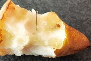 Sốc: Sau dâu tây, Australia lại phát hiện kim khâu trong quả lê
