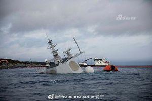 Chiến hạm Aegis nửa tỷ USD của Na Uy đang biến thành 'tàu ngầm'