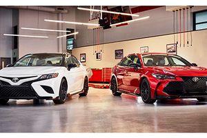 Toyota 'nhá hàng' cặp đôi Camry TRD và Avalon TRD mới