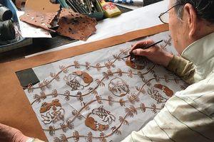 Bay bổng sáng tạo cùng nghệ thuật in khắc giấy katagami