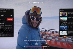 YouTube VR cập bến Oculus Go