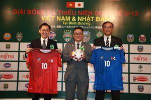Việt Nam đấu Nhật Bản tại giải bóng đá thiếu niên quốc tế