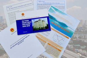 Bộ Tài chính công khai báo cáo ngân sách dành cho công dân