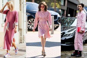 Trang phục gam màu 'hồng millennial' ngọt ngào và nữ tính