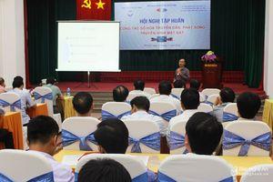 200 đại biểu tham dự tập huấn 'Công tác số hóa truyền dẫn, phát sóng truyền hình'