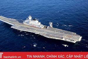 Tàu sân bay chủ lực INS Vikramaditya của Hải quân Ấn Độ