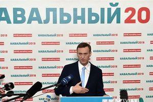 Thủ lĩnh phe đối lập Alexei Navalny bị cấm rời khỏi Nga đến châu Âu