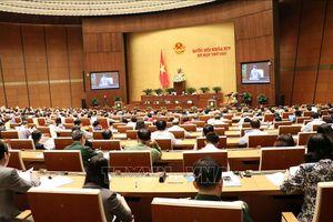 Thông cáo số 19, Kỳ họp thứ 6, Quốc hội khóa XIV