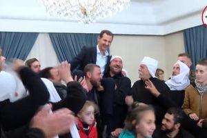 Người dân Syria kiệu tổng thống ăn mừng giải phóng khỏi IS