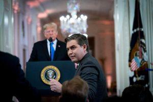 Phóng viên CNN Jim Acosta và gia đình đang bị đe dọa?