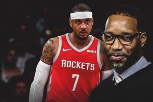 Cựu cầu thủ Houston Rockets khuyên Carmelo Anthony nên giải nghệ