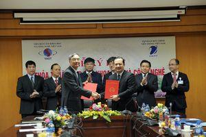 Viện Hàn lâm KH&CN Việt Nam và Tập đoàn VNPT ký kết Thỏa thuận hợp tác