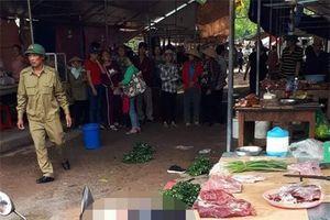 Đang bán hàng ngoài chợ, người phụ nữ bị bắn chết