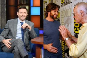 Hugh Jackman ngậm ngùi hồi tưởng, tiết lộ từng bị Stan Lee 'cướp sóng' tại Comic Con