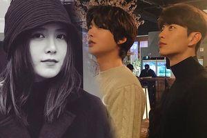 Goo Hye Sun qua Pháp tổ chức triển lãm, Ahn Jae Hyun ở nhà 'lén' đăng ảnh cùng Lee Min Ki