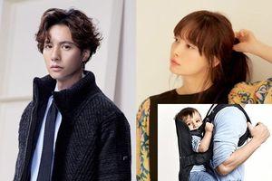 Lee Na Young chia sẻ Won Bin thường địu con trai của họ, khán giả Hàn nói gì về đứa bé?