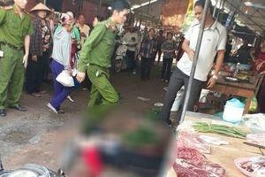 Đang ngồi bán hàng ở chợ, cô gái bị bắn tử vong tại chỗ