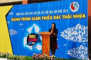Bình Dương: Tổ chức 'Hành trình giảm thiểu rác thải nhựa'