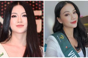 Hoa hậu Trái Đất Phương Khánh lộ khuôn mặt 'tròn như cái đĩa'