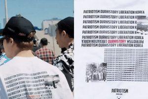 BTS xin lỗi vì mặc áo in hình bom nguyên tử