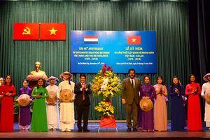 TP Hồ Chí Minh là điểm đầu tư ưu tiên của các doanh nghiệp Hà Lan khi đến Việt Nam