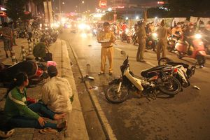 Đã làm rõ nguyên nhân vụ xe 7 chỗ gây tai nạn liên hoàn tại TP Hồ Chí Minh