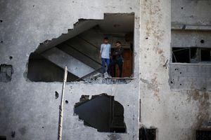 Hamas thông báo ngừng bắn với Israel - Dải Gaza tạm thời hạ nhiệt