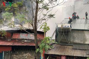 Cháy lớn tại thị trấn Đồng Đăng, Lạng Sơn
