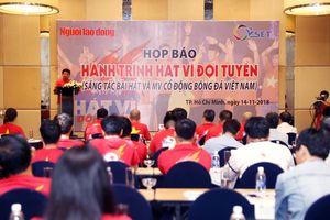 300 triệu đồng cho bài hát hay nhất cổ động bóng đá Việt Nam